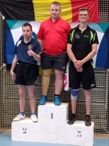 Jurgen Heylen - bronzen medaille Belgische kampioenschappen