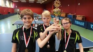 Miniemen kampioen jargang 2018-2019
