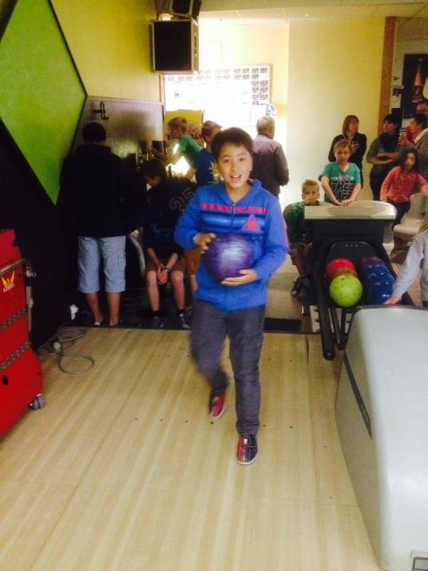 Foto 4 bowling met jeugd